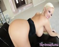 Big Titted Blonde Teases - scene 8
