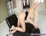 Big Titted Blonde Teases - scene 10
