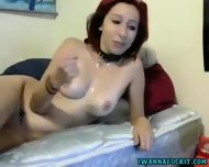 Hot Redhead Gf Sucks And Fucks Bf On Cam - scene 10
