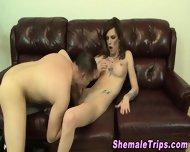 Shemale Gets Ass Eaten - scene 6