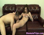 Shemale Gets Ass Eaten - scene 7