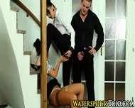 Trio Piss Soaked Sluts - scene 11