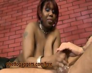 White Clown Face Fucks A Thick Black Ho - scene 3