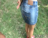 Busty Amateur Eurobabe Fucked And Cum Swallows In Public - scene 4