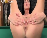 Fluent Cunt Masturbation On The Billiards - scene 6
