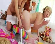 Whipped Cream In Their Deep Anuses - scene 5