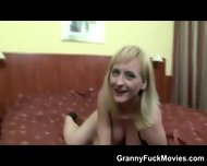 Granny Porn Slut With Black Dldo - scene 4