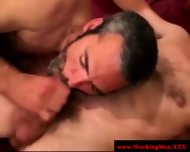 Hairy Bear Sucks In Want Of That Cumshot - scene 3