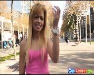 Horny Blonde Spanish Sex Bomb - scene 9