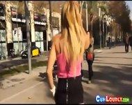 Horny Blonde Spanish Sex Bomb - scene 2