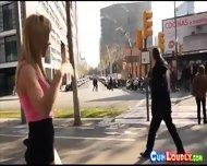 Horny Blonde Spanish Sex Bomb - scene 3