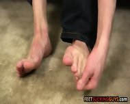 Hot Stud Scott Knows We Want To Admire His Irresistible Feet - scene 3