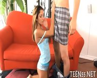 Tiny Asian Teen Gets Nailed - scene 1