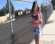 Slutty Teen Enjoys Xxl Dp - scene 3