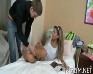 Bubble Butt Teen In Heavy Action - scene 3