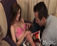 Shapely Virgin Going Wild - scene 3