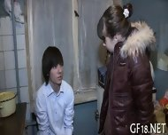 Sharing Girlfriends Love Tunnel - scene 1