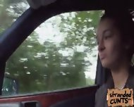 Vanessa Rodriguez Offer Herself To Bang At The Backseat Of The Car - scene 2