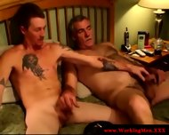 Smoking Gay Couple Tugging And Fucking - scene 8