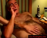 Smoking Gay Couple Tugging And Fucking - scene 10