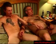 Smoking Gay Couple Tugging And Fucking - scene 11
