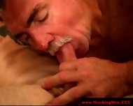 Smoking Gay Couple Tugging And Fucking - scene 12