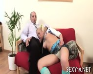 Babe Gets Hot Fucking Lesson - scene 1
