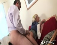 Babe Gets Hot Fucking Lesson - scene 6