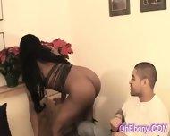 Young Supple Ebony Babe - scene 7