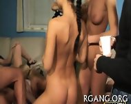 Guys Stare At Lesbo Fun - scene 2