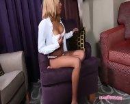 Sexy Ebony Diamond Monrow Fucked And Facialed By Big Dick - scene 3