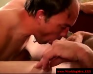 Bear Redneck Mature Sucks Buddy - scene 10