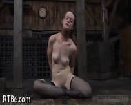 Facial And Pussy Torture For Babe - scene 3