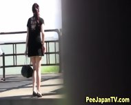Hot Japanese Chick Pees - scene 1