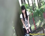 Hot Japanese Chick Pees - scene 9