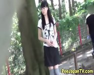 Hot Japanese Chick Pees - scene 11