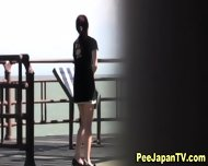 Hot Japanese Chick Pees - scene 2