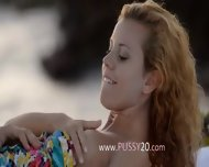 Pussy Licking And Copulate By The Sea - scene 2