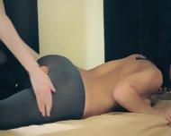 Amazing Cute Lesbians In Pantyhose - scene 11