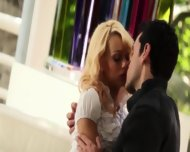 Ultra Sleek Blonde And Her Boyfriend - scene 2