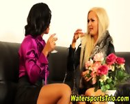 Horny Clothed Piss Lovers - scene 1