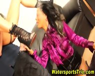 Horny Clothed Piss Lovers - scene 9