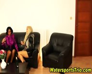 Horny Clothed Piss Lovers - scene 2