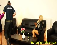 Horny Clothed Piss Lovers - scene 4