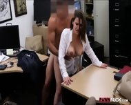 Foxy Business Lady Fucked By Pawnkeeper Inside The Office - scene 11