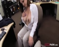 Foxy Business Lady Fucked By Pawnkeeper Inside The Office - scene 4