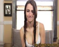 Teen Babe Blowjob Facial - scene 3