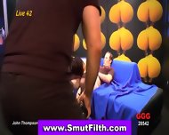 Bukkake Whore Drilled - scene 11