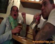 Lesbian Hooker Fingered - scene 5