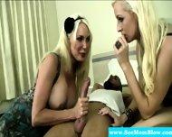 Busty Blonde Milf Drools On Black Dick - scene 5